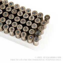 50 Rounds of .38 Spl Ammo by Federal Law Enforcement - 158gr LSWC