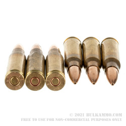 20 Rounds of 7.62x51 Ammo by Winchester Service Grade - 175gr HPBT MatchKing M118LR