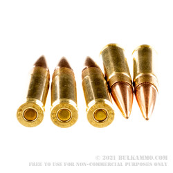20 Rounds of .300 AAC Blackout Ammo by Australian Outback - 125gr Matchking HPBT