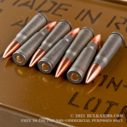640 Round Sealed Container of 7.62x39mm Ammo by Tula - 122gr FMJ