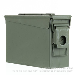 1 Brand New Mil-Spec 30 Cal M19 Green Ammo Can