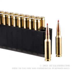 80 Rounds of 6.5 Creedmoor Ammo in Field Box by Hornady Match - 147gr ELD Match