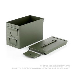 6 Brand New 50 Cal M2A1 Green Ammo Cans