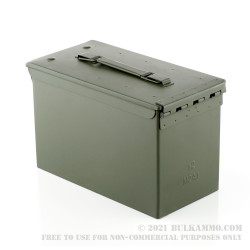 12 Brand New 50 Cal M2A1 Green Ammo Cans