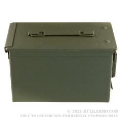 1 Brand New Condition Mil-Spec 50 Cal M2A2 Green Ammo Can