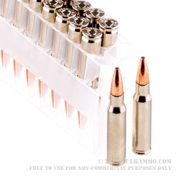 500 Rounds of .308 Win Ammo by Speer Gold Dot - 168gr JSP