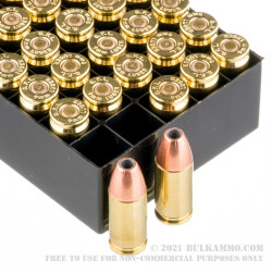 50 Rounds of 9mm Ammo by Fiocchi - 124gr JHP