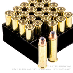 25 Rounds of .357 Mag Ammo by Hornady - 158gr JHP XTP