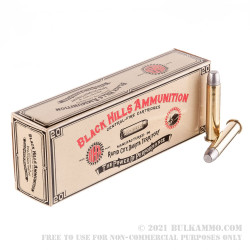 20 Rounds of .45-70 Ammo by Black Hills Ammunition - 405gr LFP