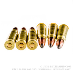 500 Rounds of 7.62x39mm Ammo by Golden Bear - 125gr SP