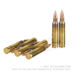 100 Rounds of .223 Ammo by Federal American Eagle - 55gr FMJBT
