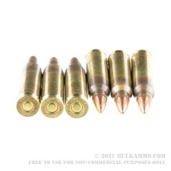 500 Rounds of .223 Rem Ammo by Hornady Frontier - 55gr FMJ