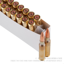 20 Rounds of 7.62x51mm Ammo by Prvi Partizan - 145gr FMJ