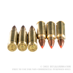 200 Rounds of 6.8 SPC Ammo by Hornady - 110gr V-Max