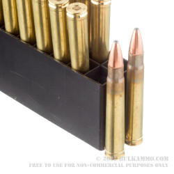 20 Rounds of .375 H&H Mag Ammo by Hornady - 270gr SP