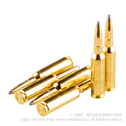 20 Rounds of 6.5mm Creedmoor Ammo by Sellier & Bellot - 131gr SP