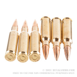 20 Rounds of .308 Win Ammo by Barnes Precision Match - 175gr OTM
