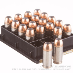 200 Rounds of .40 S&W Ammo by Federal Personal Defense Hydra-Shok Low Recoil - 135gr JHP