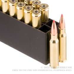308 - 168 Grain A-Max - Hornady BLACK - 20 Rounds