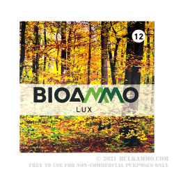 250 Rounds of 12ga Ammo by BioAmmo Lux Lead - 1 ounce # 8 Shot