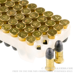 600 Rounds of .22 Short Ammo by VOSTOK - 28 Grain LRN
