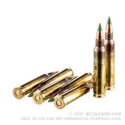 420 Rounds of 5.56x45 Ammo by Federal American Eagle in Ammo Can - 62gr FMJBT XM855