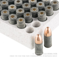 50 Rounds of 9mm Ammo by Winchester USA Forged - 115gr FMJ