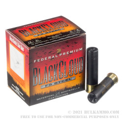 """25 Rounds of 12ga Ammo by Federal Blackcloud - 3 1/2"""" 1 1/2 ounce #4 shot"""
