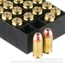 20 Rounds of .40 S&W Ammo by Hornady American Gunner - 180gr XTP JHP
