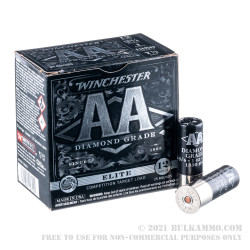 250 Rounds of 12ga Ammo by Winchester AA Diamond Grade - 1 ounce #7.5 shot