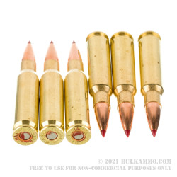 20 Rounds of .308 Win Ammo by Black Hills Gold - 168gr ELD Match
