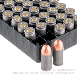 50 Rounds of .380 ACP Ammo by Wolf WPA Polyformance - 94gr FMJ