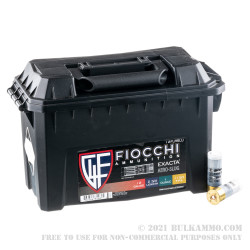 80 Rounds of 12ga Ammo by Fiocchi - 1 ounce Low Recoil Rifled Slug