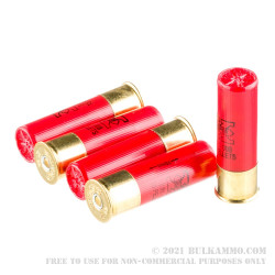 """5 Rounds of 12ga Ammo by Winchester -  3"""" 00 Buck"""