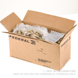 1000 Rounds of 5.56x45 Ammo by Federal American Eagle - 55gr FMJ XM193