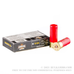 250 Rounds of 12ga Ammo by Armscor -  00 Buck