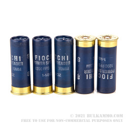 """250 Rounds of 12ga 2-3/4"""" Ammo by Fiocchi Spreader - 1 1/8 ounce #8 shot"""