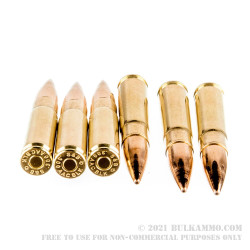 1000 Rounds of .300 AAC Blackout Ammo by Sellier & Bellot - 124gr FMJ