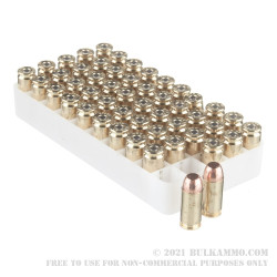 50 Rounds of .40 S&W Ammo by Speer - 155gr TMJ