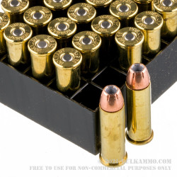 250 Rounds of .38 Spl Ammo by Hornady - 158gr JHP