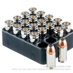 20 Rounds of 9mm +P Ammo by Corbon - 90gr JHP