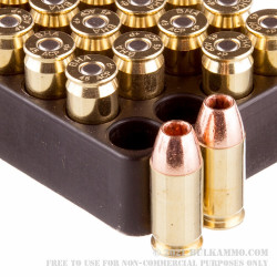 20 Rounds of .45 ACP Ammo by Black Hills Ammunition - +P 185gr TAC-XP HP