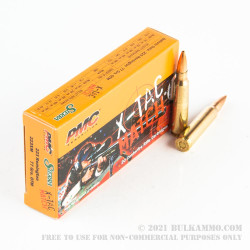 20 Rounds of .223 Ammo by PMC - 77gr OTM
