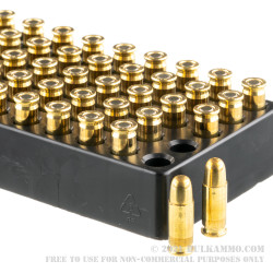 50 Rounds of .25 ACP Ammo by Remington UMC - 50gr FMJ