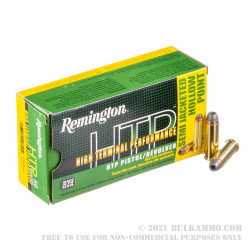 50 Rounds of .44 Mag Ammo by Remington - 240gr SJHP