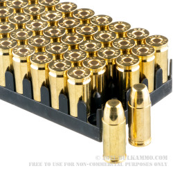 50 Rounds of 9mm Ammo by Sellier & Bellot Subsonic - 150gr FMJ