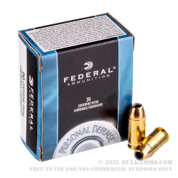 500  Rounds of .45 ACP Ammo by Federal - 230gr JHP