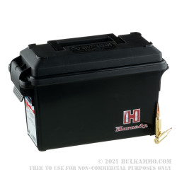 200 Rounds of 6.5 Creedmoor Ammo by Hornady - 140gr BTHP