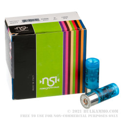 250 Rounds of 12ga Ammo by NobelSport Low Recoil - 00 Buck