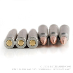 20 Rounds of 30-06 Springfield Ammo by Colt - 168gr FMJ